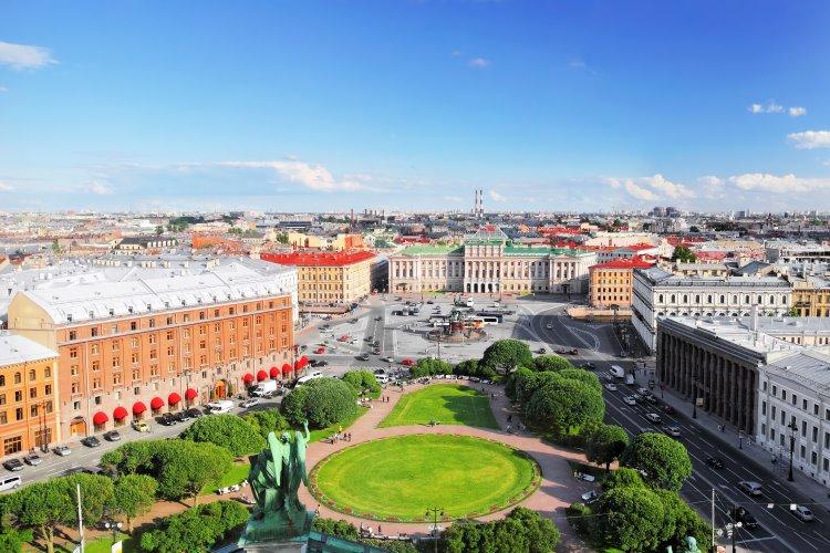 St. Petersburg – das Venedig des Nordens