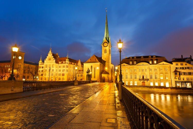Städtereise Zürich – die Hauptstadt der Schweiz