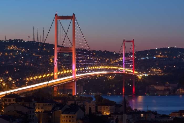 Bosporus Brücke Istanbul