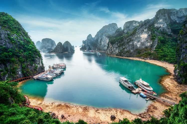 Vịnh Hạ Long Bucht (Vietnam) – ein einmaliges Erlebnis