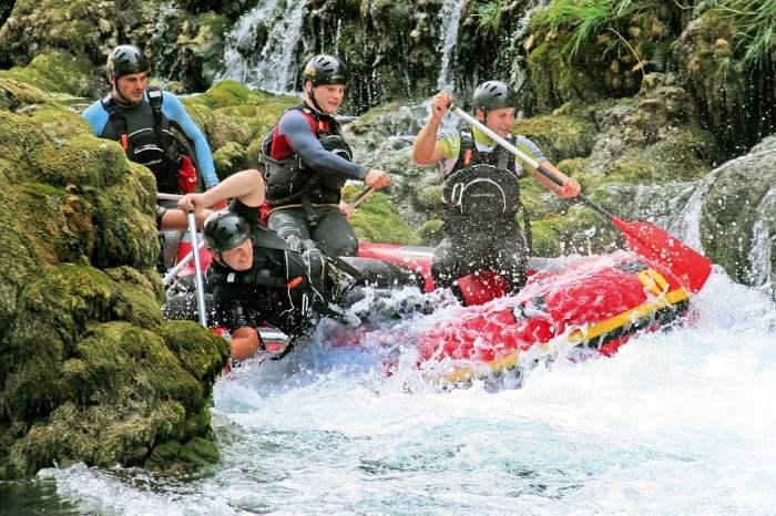 Una Nationalpark Rafting