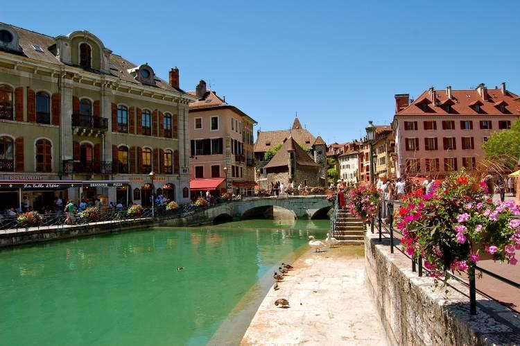 Chamonix-Mont-Blanc – bekannter Wintersportort in den französischen Alpen