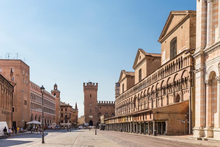 Ferrara, Italien