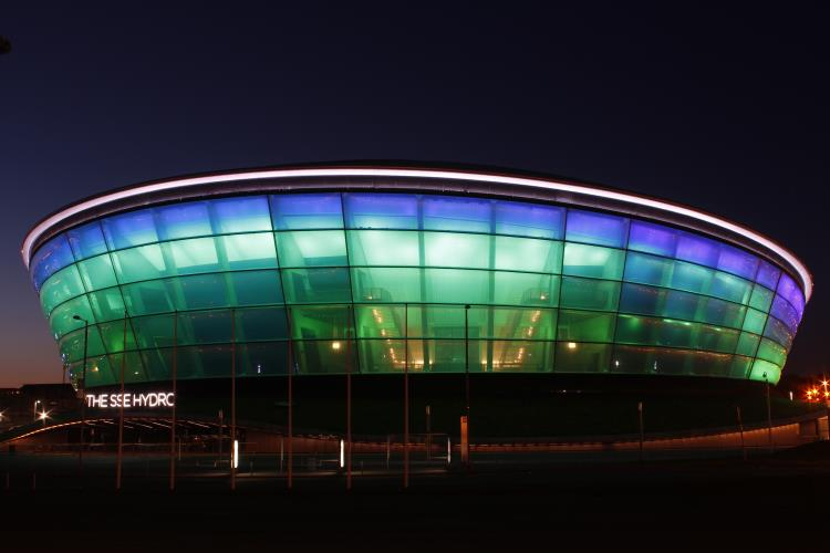 The SSE Hydro Arena in Glasgow