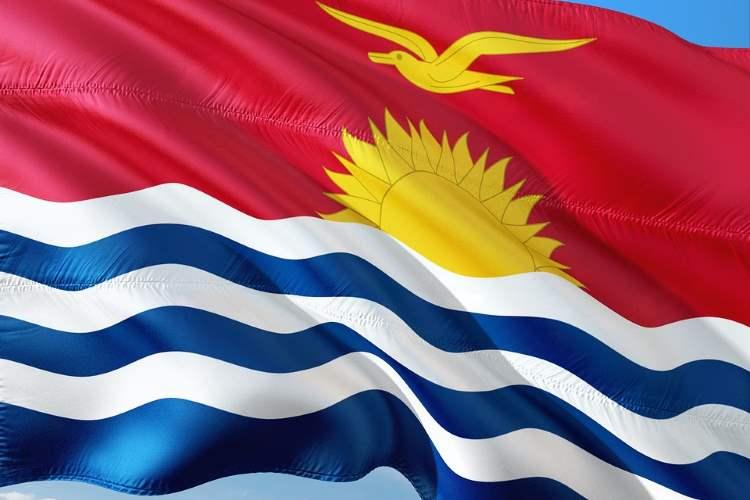 Kiribati, Flagge