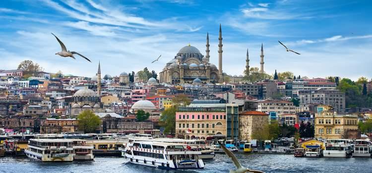 Istanbul, Mittelmeer