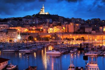 Marseille, Mittelmeer
