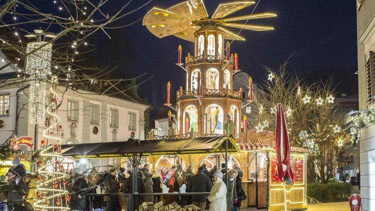 Weihnachtsmarkt, Bregenz