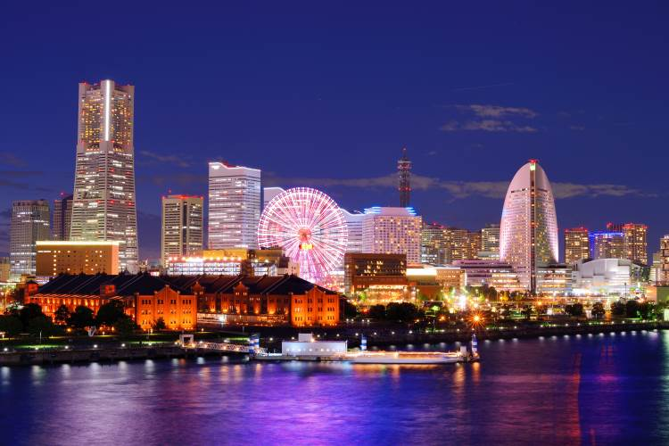 Städtetrip Yokohama: moderne Metropole in Japan