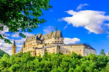 Vianden Castle Luxemburg