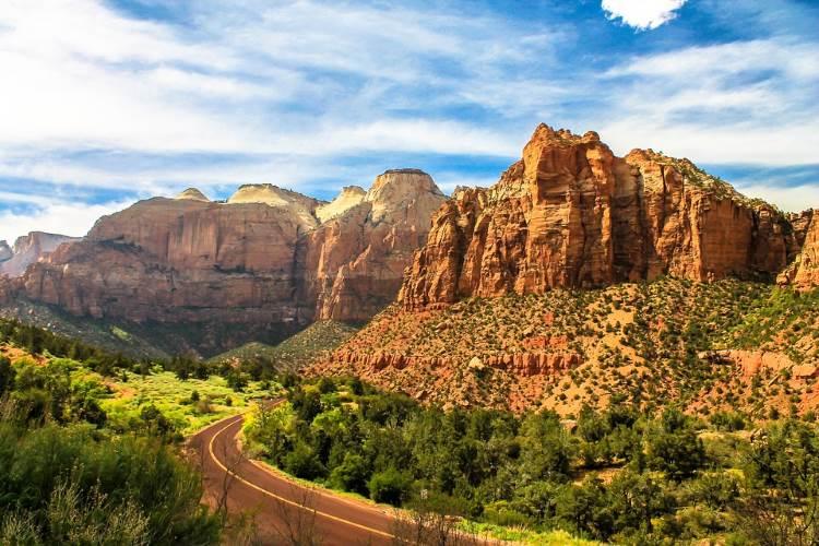 Zion Nationalpark – beliebtes Ausflugsziel im Bundesstaat Utah