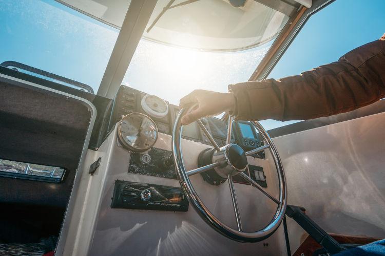 Hausboot fahren